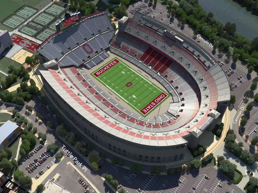 Ohio St Football Virtual VenueTM By IOMEDIA