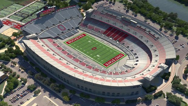 Ohio St Football Virtual Venue By Iomedia